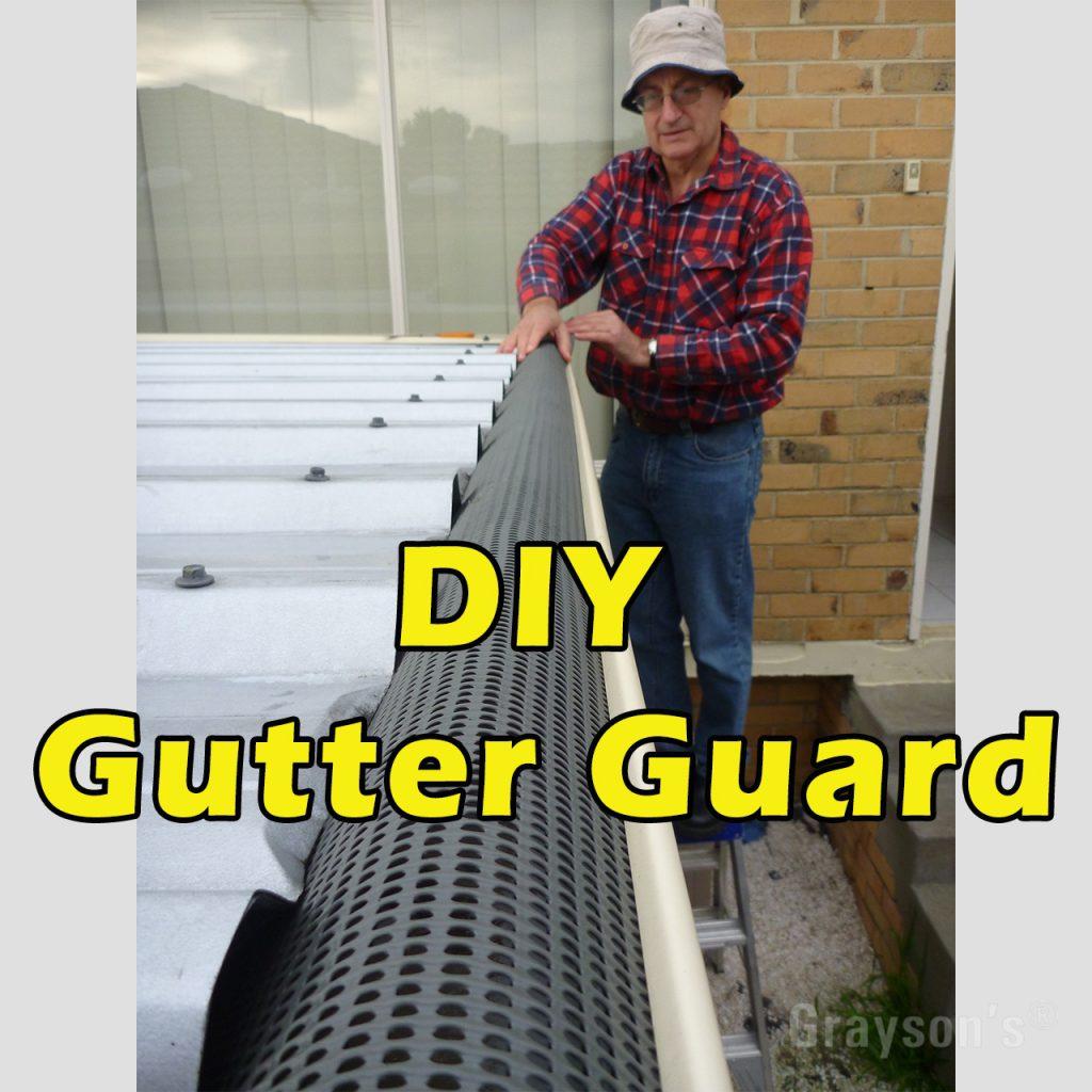 DIY gutter guard
