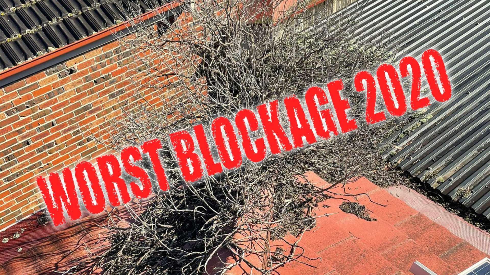 Worst Gutter Blockage of 2020